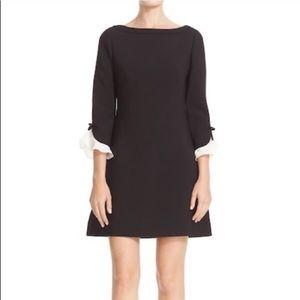 Kate Spade black shift dress size 12 EUC